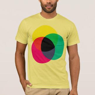T-shirt Pièce en t de CMYK
