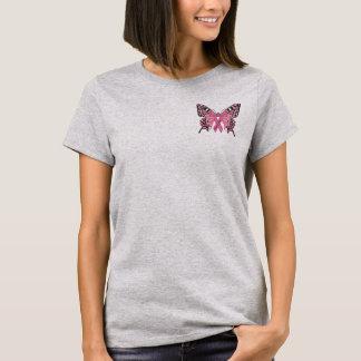 T-shirt Pièce en t de conscience de cancer du sein