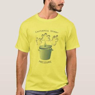 T-shirt Pièce en t de contenu sous pression
