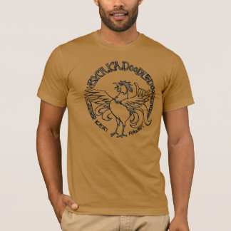 T-shirt Pièce en t de coq de Kauai