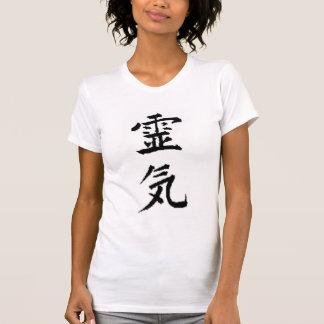 T-shirt Pièce en t de cou de scoop de Reiki