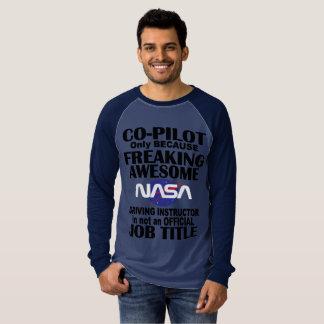 T-shirt Pièce en t de course de la NASA