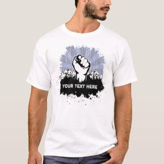 T-shirt Pièce en t de coutume de poing de liberté