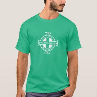T-shirt Pièce en t de crête du football de l'Irlande du