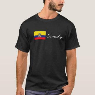 T-shirt Pièce en t de cursive de l'Equateur