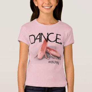 T-shirt pièce en t de danse