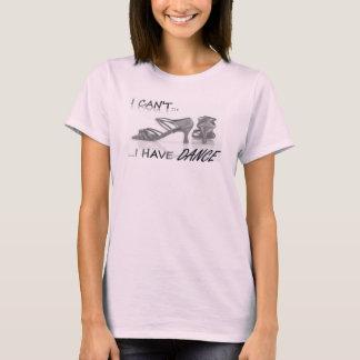 T-shirt Pièce en t de danse de dames