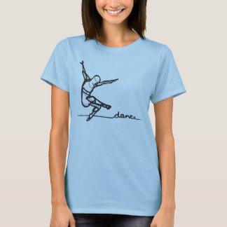 T-shirt Pièce en t de danse moderne (adaptée)