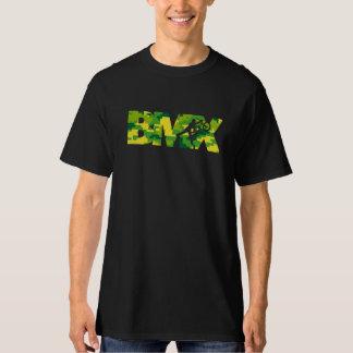 T-shirt Pièce en t de Digitals Camo de pochoir de BMX