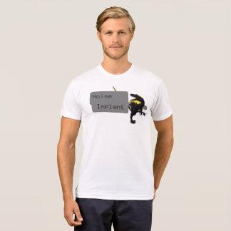 T-shirt Pièce en t de Dino d'implant de bruit
