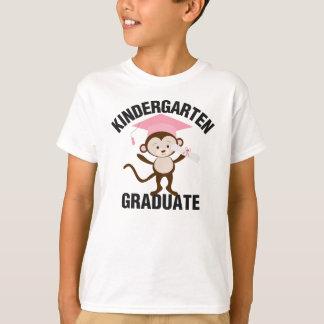 T-shirt Pièce en t de diplômé de jardin d'enfants de rose
