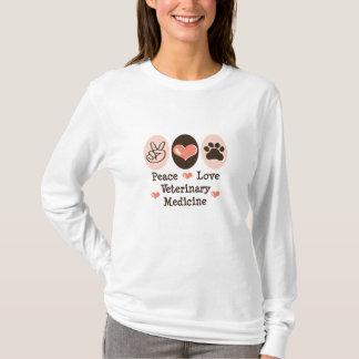 T-shirt Pièce en t de douille de médecine vétérinaire