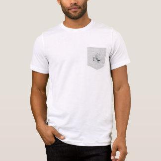 T-shirt Pièce en t de Dracardi avec la poche