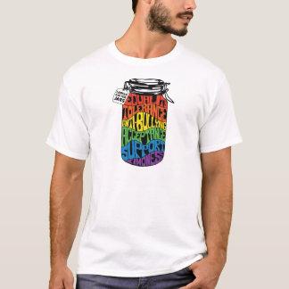 T-shirt Pièce en t de droits des homosexuels