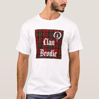 T-shirt Pièce en t de fierté de Brodie de clan