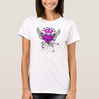 T-shirt Pièce en t de fille de style-Rouleau de tatouage