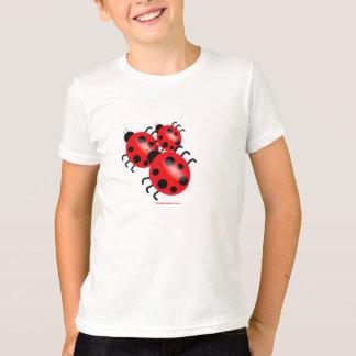 T-shirt Pièce en t de filles de coccinelles