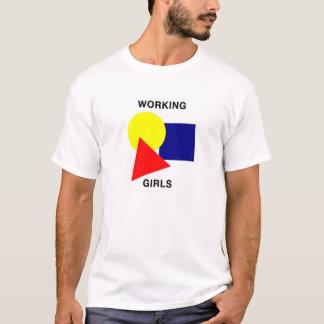 T-shirt Pièce en t de filles de fonctionnement