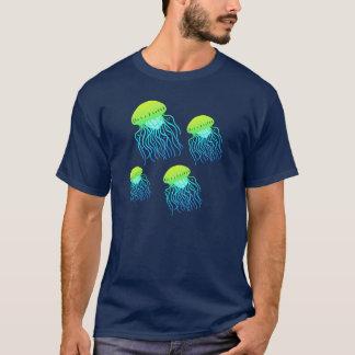 T-shirt Pièce en t de flottement de gelées de méduses