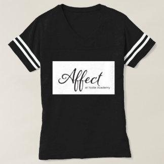 T-shirt Pièce en t de football de maman d'affect