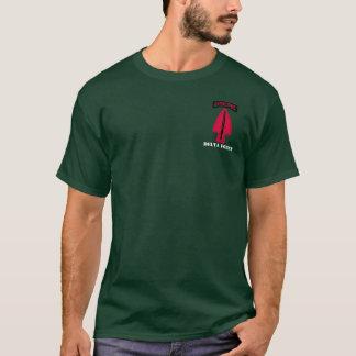 T-shirt Pièce en t de force de delta longue