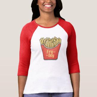 T-shirt Pièce en t de fritures - son Friture-Jour !