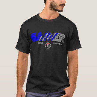 T-shirt Pièce en t de Gamer de 00 LVL