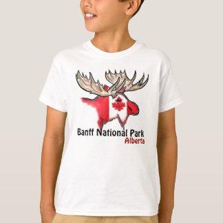 T-shirt Pièce en t de garçons d'Alberta Canada de parc