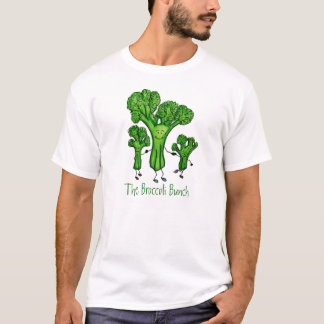 T-shirt Pièce en t de groupe de brocoli