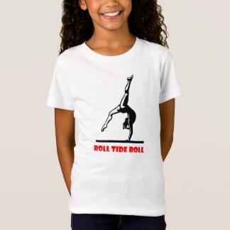 T-Shirt pièce en t de gymnastique de l'Alabama