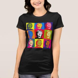 T-shirt Pièce en t de Hillary Clinton Jersey d'art de