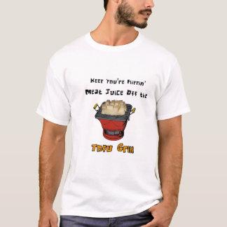 T-shirt Pièce en t de jus de viande de tofu