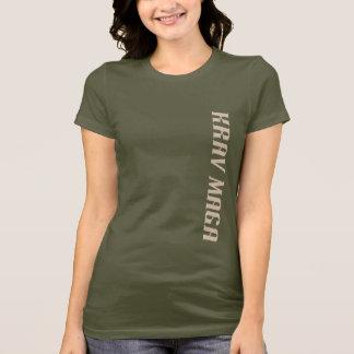 T-shirt Pièce en t de Krav Maga des femmes
