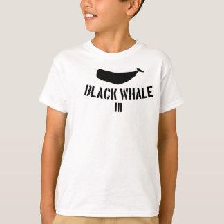 T-shirt Pièce en t de la baleine noire III pour le Kiddos