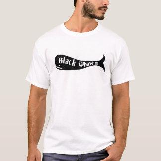 T-shirt Pièce en t de la baleine noire III pour les hommes