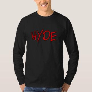 T-shirt Pièce en t de la douille des hommes de HYDE longue