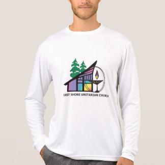T-shirt Pièce en t de la douille des hommes d'ESUC longue