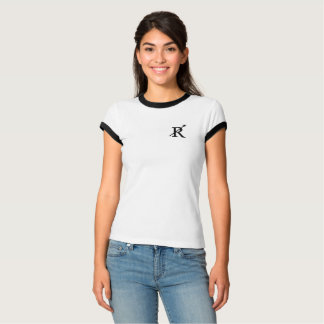 T-shirt Pièce en t de la sonnerie de la femme d'équipage