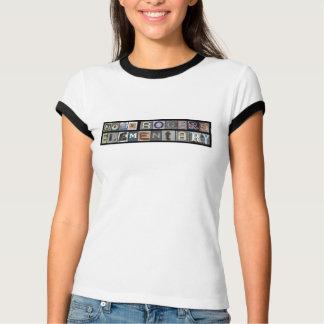 T-shirt Pièce en t de la sonnerie des femmes de John