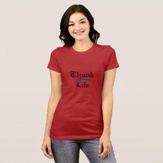 T-shirt Pièce en t de la vie de WWK Thunk