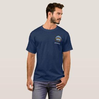 T-shirt Pièce en t de l'attitude d'un pilote