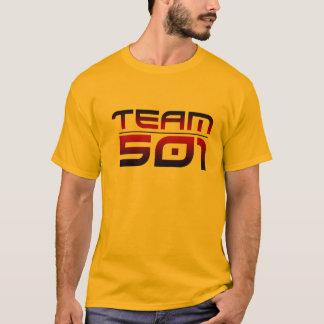 T-shirt Pièce en t de l'équipe 501 de couleur (plus