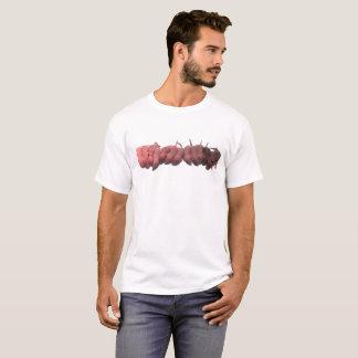 T-shirt Pièce en t de ligne d'ordures