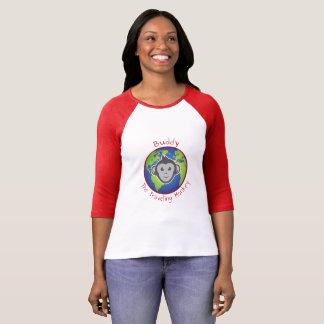 T-shirt Pièce en t de logo d'ami