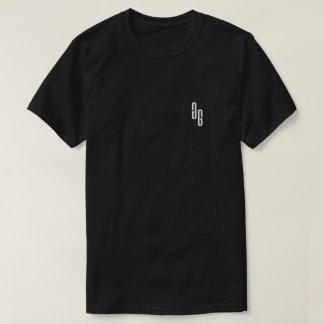 T-shirt Pièce en t de logo de GG dans le noir
