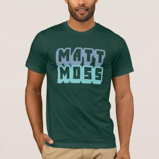 T-shirt Pièce en t de logo de mousse de Matt