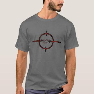 T-shirt Pièce en t de logo de réticule