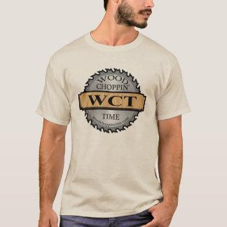 T-shirt Pièce en t de logo de WCT