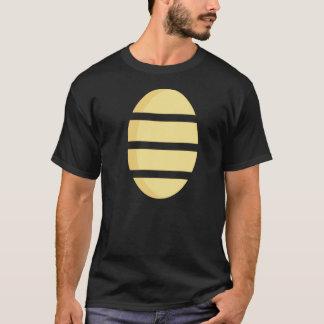 T-shirt Pièce en t de logo d'homme de cancrelat