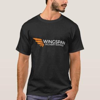 T-shirt Pièce en t de logo et de slogan de services de